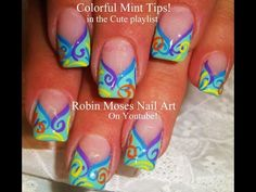 ▶ Nail Art Tutorial | DIY French Manicure | Chevron Tips with a twist! - YouTube