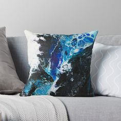 """Uniscope"" Throw Pillow by Eibonart Framed Prints, Canvas Prints, Art Prints, Free Stickers, Designer Throw Pillows, Pillow Design, Art Boards, Finding Yourself"