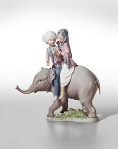 Hindu Children Lladro Figurine. #Lladro #Statue #Sculpture #Decor #Gift #gosstudio .★ We recommend Gift Shop: http://www.zazzle.com/vintagestylestudio ★