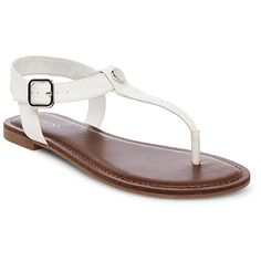 Women's Marissa Thong Sandals - White 5.5