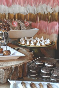 whimsical woodland party