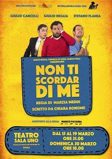TG Musical e Teatro in Italia: NON TI SCORDAR DI ME al Teatro Sala Uno