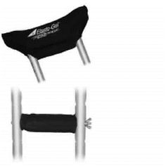 Crutches: Crutch-Mate Crutches Underarm Pad And Handgrips, Waterproof BUY IT NOW ONLY: $49.99