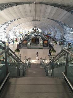 Bangkok airport. #architecture