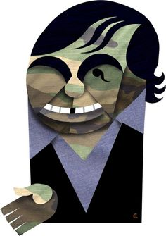 Oliver Stone by David Cowles (Caricature) http://masterpaintingnow.com/how-to-draw-everything?hop=dunway