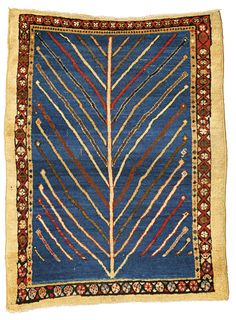 A Bakshaish rug, North Persia approximately 4ft. by 3ft. 1in. (1.22 by 0.94m.) circa 1875