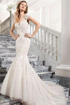 Demetrios 'C209' size 8 used wedding dress - Nearly Newlywed