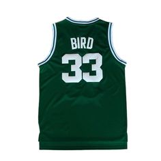 Aliexpress.com   Buy Mens  33 Larry Bird Jersey Green 1ca4f5f99