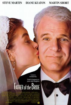 Father of the Bride (1991) George and Nina Banks are the parents of young soon-to-be-wed Annie. George is a nervous father unready to face the fact that his little girl is now a woman. The preparations for the extravagant wedding provide additional comic.