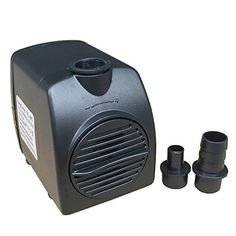 Look at this:  Eight24hours 210 GPH Submersible Water Pump Aquarium Fish Tank Powerhead Fountain Hydroponic