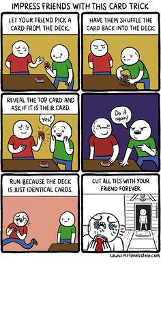 Mr. Lovenstein | Card Trick.
