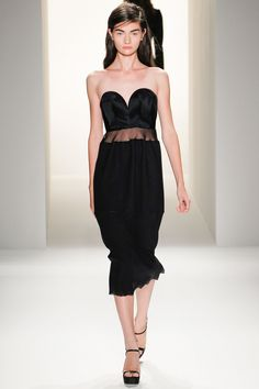 LBD By Calvin Klein Collection Spring 2013 RTW - Review - Collections - Vogue