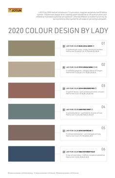 Jotun Lady, My Room, Colorful Interiors, Mineral, Skagen, Interior Colors, Refurbishment, Design, Gera