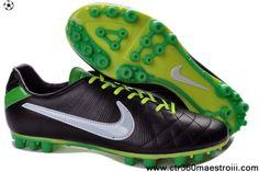 Discount Black White Orange Nike Tiempo Legend IV Elite FG Soccer Boots Shop 1fbc59e2f0