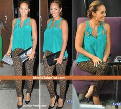 Evelyn Lozada Is BANGIN in leopard