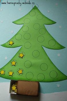 Adventní kalendář pro nejmenší :: Tvořivé pracky