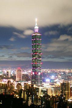 Taipei 101: el edificio más alto de Taiwan