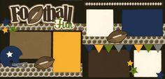 Football Fun Page Kit