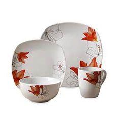 Lily dinnerware