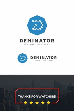 Deminator D Letter Logo: multifunctional logo that can be used in technological companies, in companies and applications for software development, construction Logistics Logo, Data Logo, Letter Logo, Software Development, Multifunctional, Logo Inspiration, Logo Templates, Construction, Ads