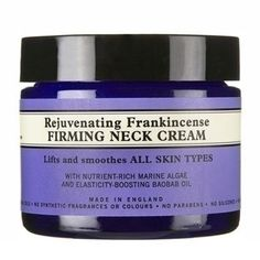 Rejuvenating Frankincense Firming Neck Cream by Neal's Yard https://us.nyrorganic.com/shop/heal1self