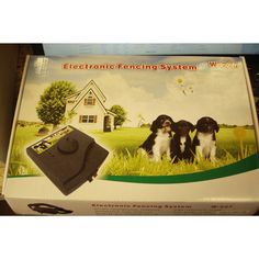 Underground Electric Electronic Pet Fence Fencing System 2 Dog W227