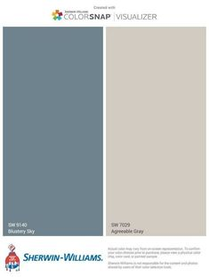 Coordinating Colors With Agreeable Gray New House In - Essential Steps To Gray Living Room Paint Colors Sherwin Williams Accent Walls Essential Steps To Gray Living Room Paint Colors Sherwin Williams Accent Walls Coloradorockiescp Com Home D Blue Paint Colors, Room Paint Colors, Paint Colors For Living Room, Paint Colors For Home, Grey Paint, Gray Color, Bluish Gray Paint, Exterior Paint Colors For House, Exterior Colors