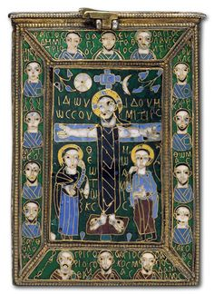Byzantine reliquary of the True Crossca800AD - Category:Medieval images - AJU
