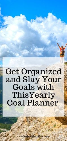 What is the best yearly goal planner to help you organize your life, and set smart goals that you can actually achieve in 2020?  The Slay Your Goals Planner is the best goal planner to help you with worksheets that walk you through setting smart goals, breaking them down, and taking actionable steps.  Get your life in order and achieve your goals in 2020.  Click to see my review of this amazing yearly goal planner! #goalplanner #life #2020 #longterm #yearly #best #worksheet #printable #smart Goal Setting Life, Life Goals Future, Entrepreneur, Productivity Hacks, Goal Planning, Get Your Life, Startup, Goals Planner, Time Management Tips