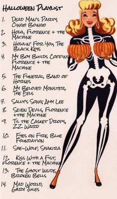 halloween playlist there are a lot of metal songs I would add to ...