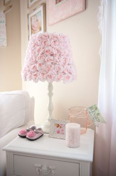Project Nursery - Rose Lamp