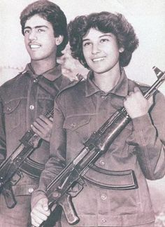 Soldiers of the Democratic Republic of Afghanistan in 1987, ready to fight the Mujahideen.
