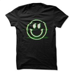 Happy Face Video Glitch T Shirt, Hoodie, Sweatshirts - t shirt printing #teeshirt #T-Shirts