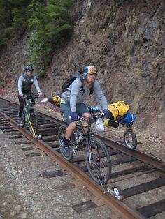 https://flic.kr/p/9dxhs4 | loaded | 2009 Mendocino rail bike tour day 5