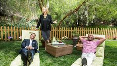 Summer is here & it's time to lounge! Create the perfect chairs w/ @kennethwingard's DIY! Catch #homeandfamily weekdays at 10/9c on Hallmark Channel!