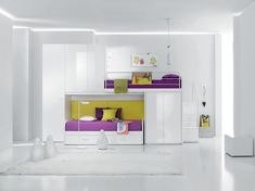 Contemporary Rainbow Collection with Onda Bunk Bed by Brevedon « Furniture Design Images, Photos and Pictures Gallery « Designers Raum