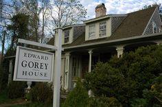 The New England Grimpendium: Edward Gorey House, Yarmouth Port, MA