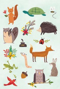 Forest Friends Book of Stickers: Amazon.de: Yasmin Imamura: Fremdsprachige Bücher