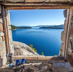 View from Fannette Island, South Tahoe ~ Visit CA