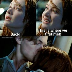 Titanic Movie Facts, Titanic Quotes, Tv Show Quotes, Movie Quotes, Movies Showing, Movies And Tv Shows, Leonardo Dicapro, Leo And Kate, Young Leonardo Dicaprio