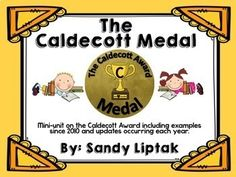 The Caldecott Award Media Specialist, Literature Club, Spring Break, Awards, Students, The Unit, Teacher, Facts, Education