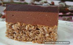 Sladké Mozartovy kostky. Pokud máte rádi kombinaci oříšků a čokolády, tento koláček je jako stvořený právě pro vás. Sweet Recipes, Cake Recipes, Kolaci I Torte, Croatian Recipes, Cake Bars, Russian Recipes, Cheesecakes, Vanilla Cake, Nutella