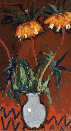 Kees Van Dongen_Flowers in a blue vase_1907