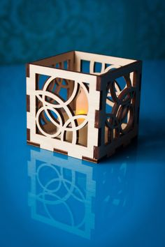 This stylish luminary candle holder for electronic votive or tealight by XyKit will look amazing in any home. And a great gift at that price!