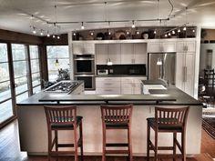 Green Concrete kitchen countertop (German Made) restore by: LIONIZE LLC