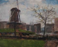 Walmolen Doetinchem. Doetinchem, Holland., painting by artist Rene PleinAir