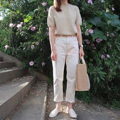 Inspirational Ideas For Dress Casual Vintage Beautiful Korean Casual Outfits, Casual Chic Outfits, Fashion Outfits, Dress Casual, Korean Fashion Trends, Korean Street Fashion, Minimalist Fashion Women, Minimal Fashion, Effortlessly Chic Outfits