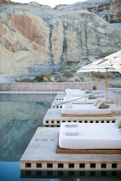 Amangiri is a remote hideaway tucked within the luminous canyons of the American Southwest. Located in a protected valley with sweeping views, the resort offers both adrenaline-fuelled adventure and a peaceful retreat. This is in Utah, people! We love where we are from.