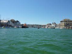 Weymouth harbour, Dorset.