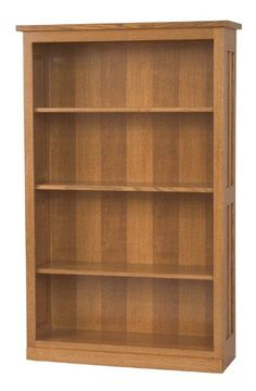 Amish Freemont Mission Bookcase - Choose From Seven Sizes